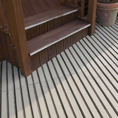 DeckGrip Strip - 2400 x 50mm - Stone