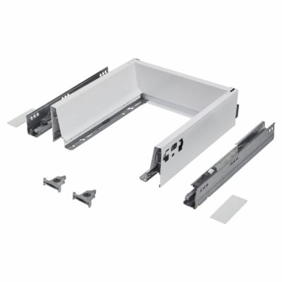 Blum TANDEMBOX ANTARO Drawer Pack - BLUMOTION Soft Close - (H) 84mm x (D) 350mm x (W) 400mm - White