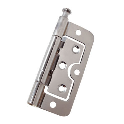 Loose Pin Hurlinge - 75 x 55 x 1.5mm - Chrome - Pair