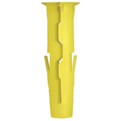 Rawlplug UNO Wall Plug - Yellow - Pack 96