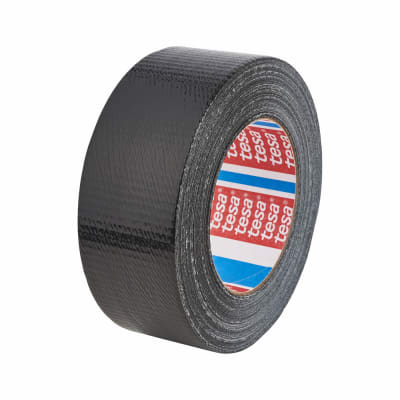 Tesa 4613 Multipurpose Universal Cloth / Duct Tape - 48mm x 50m - Black