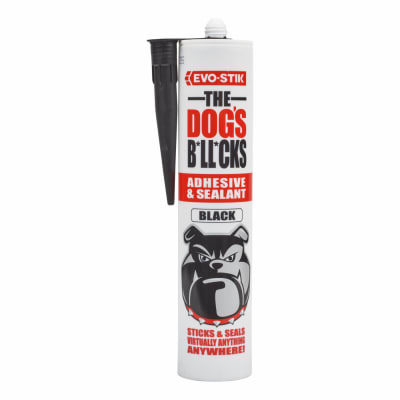 EVO-STIK The Dog's B*ll*cks - Multi-Purpose Adhesive & Sealant - Black - 290ml
