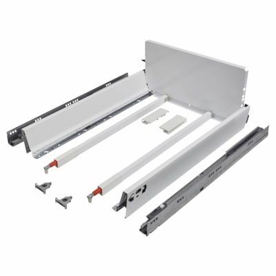 Blum TANDEMBOX ANTARO Pan Drawer - BLUMOTION Soft Close - (H) 203mm x (D) 650mm x (W) 400mm - White