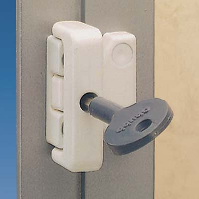 Yale® 8K106 Metal Window Lock - White
