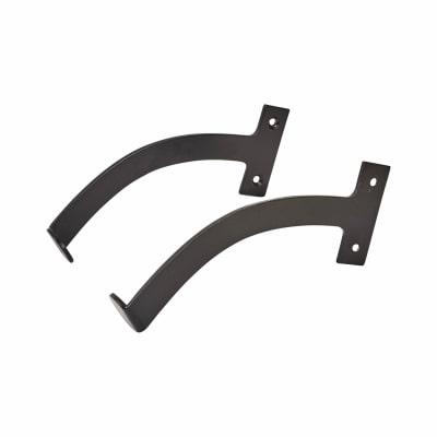 Iron Quadrant Arm Stay - 150mm - Black