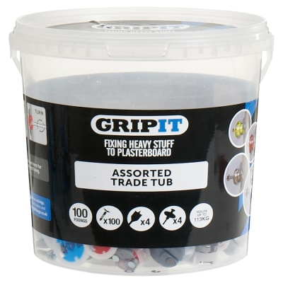 Grip It® Assorted Trade Tub - 100 Tub