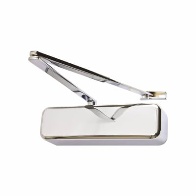 Arrone AR3500 Door Closer - Polished Stainless Arm/Cover