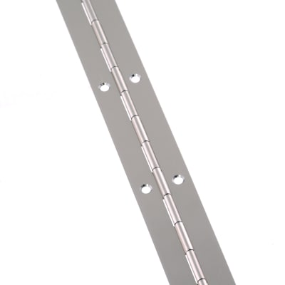 Touchpoint Steel Piano Hinge - 1800 x 25 x 0.7mm - Nickel Plated