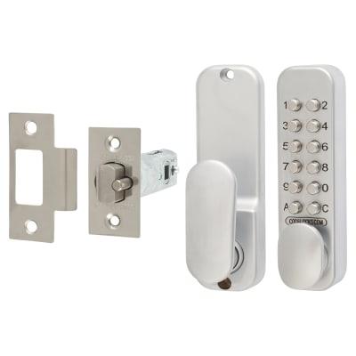Codelocks CL160 Mechanical Easycode Lock - Silver