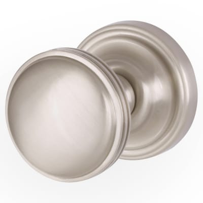 M Marcus Whitehall Mortice Door Knob - Satin Nickel