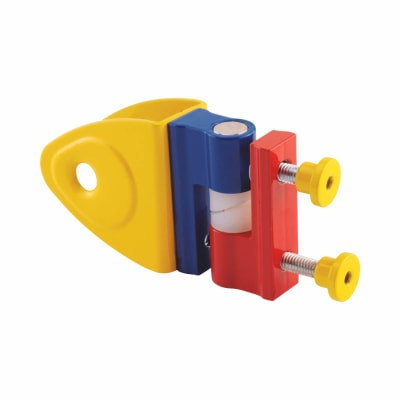 Rise & Fall Hinge - Childsplay (Coloured) - 12-13mm Panels - Red/Yellow/Blue