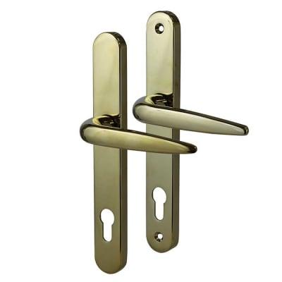 Trojan Sparta uPVC Multipoint Lever/Lever Door Handle - PVD Gold