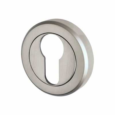 Carlisle Brass Escutcheon - Euro - Satin Chrome
