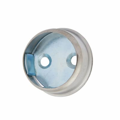 Invisifix End Socket Pack - 25mm - Chrome Plated - Pack 2