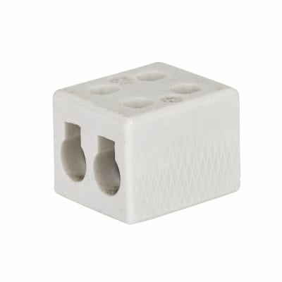 Greenbrook 30A 2 Pole Porcelain Connector