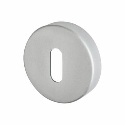 Touchpoint Puma Escutcheon - Keyhole - Satin Aluminium