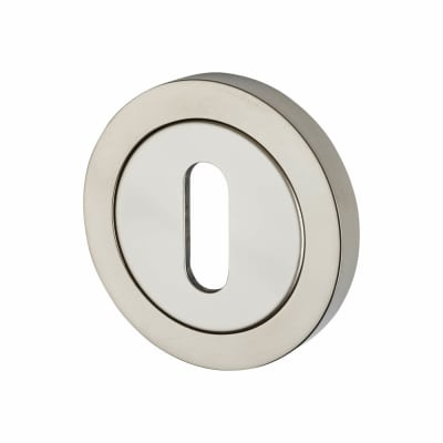 Steelworx Stainless Steel Escutcheon - Keyhole - Polished Stainless