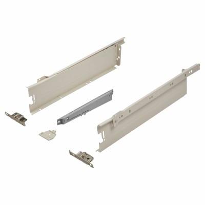 Blum METABOX BLUMOTION Soft Close Drawer Pack - Single Extension - 86mm (H) x 400mm (D) - 30kg
