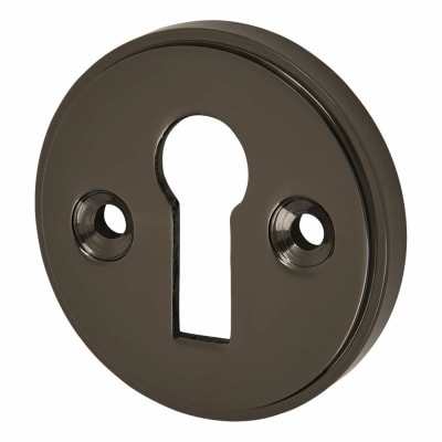 Altro Escutcheon - Keyhole - Black Nickel