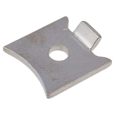 Altro Standard Raised Bookcase Clip - Polished Nickel Plated - Pack 10