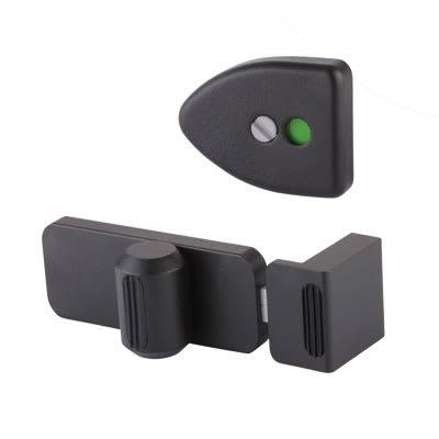 Designer Indicator Bolt - Black Textured - 17-19mm Panels