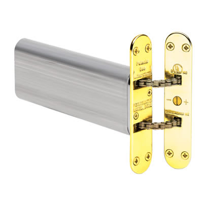 Perkomatic R85 Hydraulic Concealed Door Closer - Brass