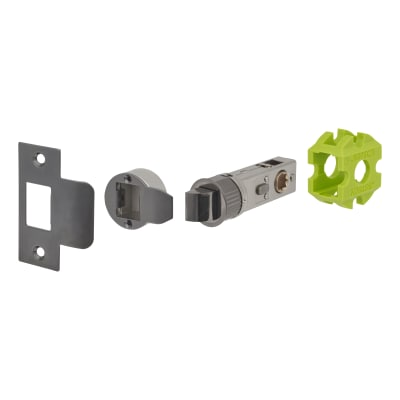 Jigtech Smartlatch Privacy Latch - 57mm Backset - Black Nickel