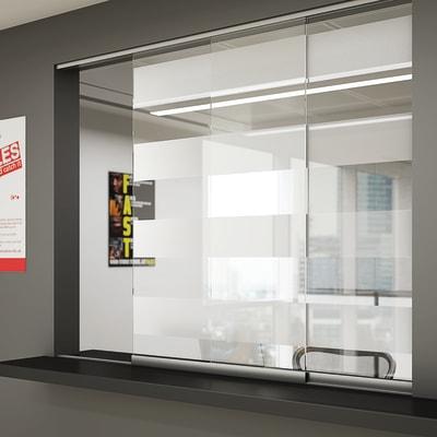 Glatt II Sliding Door Kit - 1250mm - 6mm Glass Doors