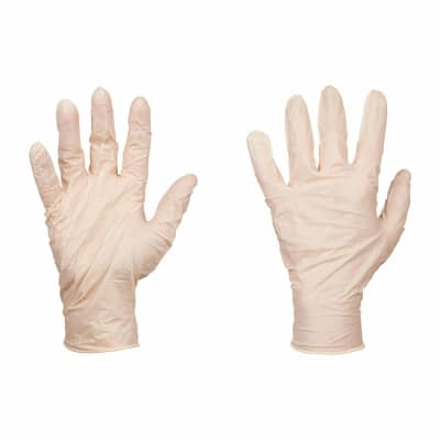 Disposable Latex Gloves Box - Large - Pack 100