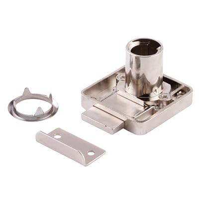 Drawer Lock - 18 x 22mm - Right Hand - Housing Only
