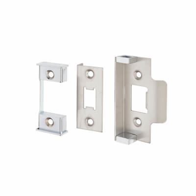 Altro 12.5mm Rebate Kit to suit Heavy Duty Tubular Latch - Satin Chrome