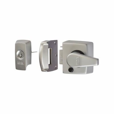 ERA® BS8621:2007 Keyless Egress Nightlatch - 40mm Backset - Satin Chrome