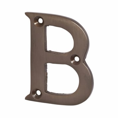 Jedo 50mm Letter - B - Dark Bronze