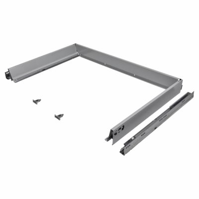 Blum TANDEMBOX ANTARO Drawer Pack - BLUMOTION Soft Close - (H) 84mm x (D) 650mm x (W) 1200mm - Grey
