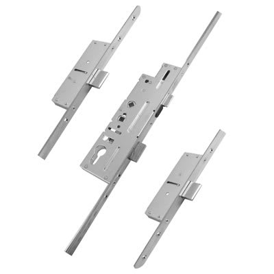 Fullex Multipoint Door Lock - Dual Spindle - 3 Deadbolts - 62/92mm C/C - 45mm Backset - uPVC/Timber