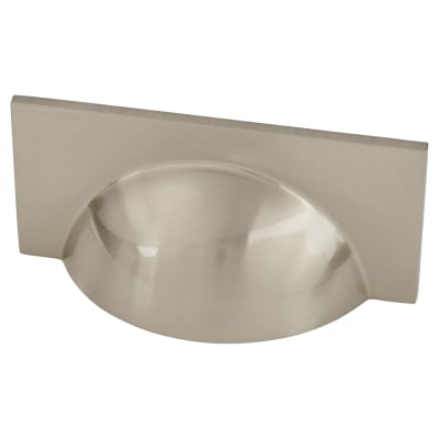 Crofts & Assinder Monmouth Cup Cabinet Handle - 64mm Centres - Brushed Satin Nickel