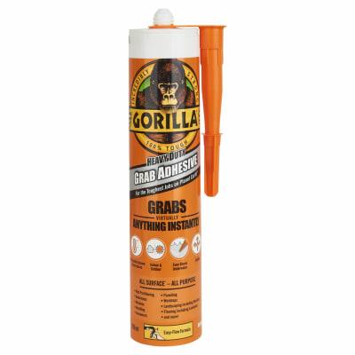 Gorilla Heavy Duty Grab Adhesive - 290ml - White