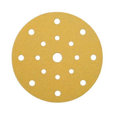 Mirka Gold Discs 17 Hole Multi Format - 125mm - Grit 60 - Pack 50