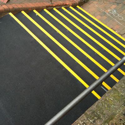 SlipGrip Landing Cover - 800 x 1200mm - Black