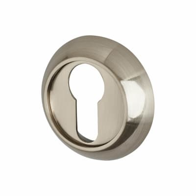 Hampstead Escutcheon - Euro - Satin Nickel