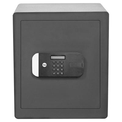 Yale Certified Office Safe - 400 x 350 x 340mm - Grey