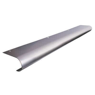 Altro Bull Nose Door Step - 825 x 100mm - Stainless Steel
