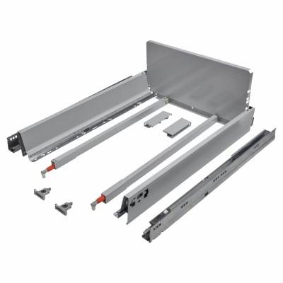 Blum TANDEMBOX ANTARO Pan Drawer - BLUMOTION Soft Close - (H) 203mm x (D) 650mm x (W) 450mm - Grey