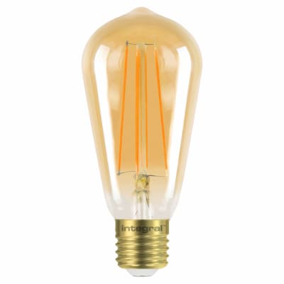 Integral LED 5W Sunset Vintage Dimmable Filament Lamp - E27 -1800K
