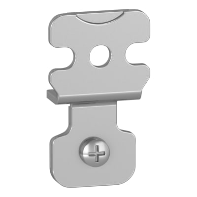 Schneider Spacial S3D Wall Fixing Lugs - Steel - Set of 4