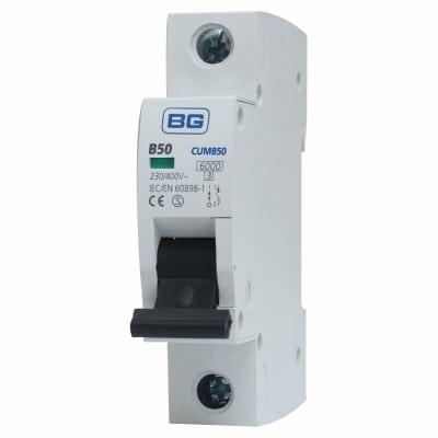 BG 50A Single Pole MCB - Type B