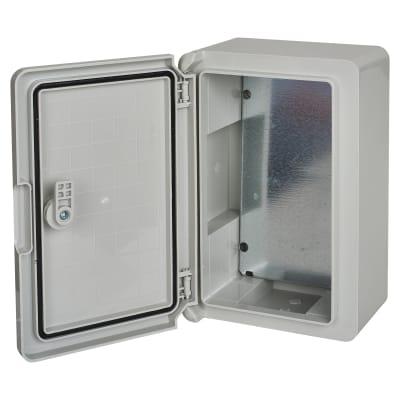 Hylec Door Enclosure - 400 x 300 x 220mm Blank Door - IP65