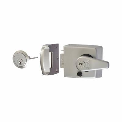 ERA Double Locking Nightlatch - 60mm Backset - Satin Chrome