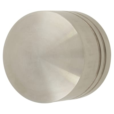 Altro Turned Lined Cabinet Knob - 35mm - 304 Satin Stainless Steel