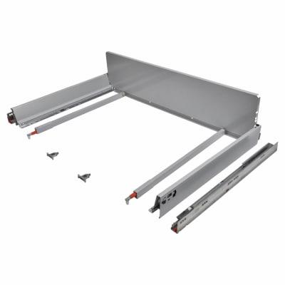 Blum TANDEMBOX ANTARO Pan Drawer - BLUMOTION Soft Close - (H) 203mm x (D) 650mm x (W) 1200mm - Grey